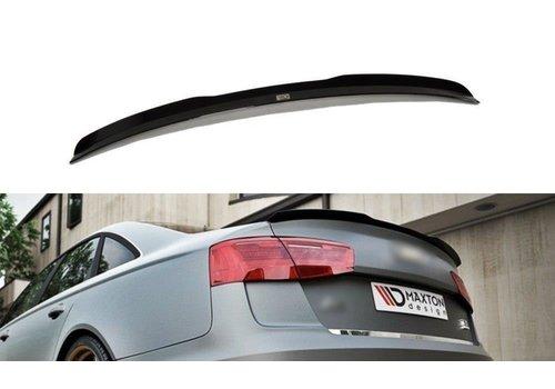 Maxton Design Heckspoiler lippe für Audi A6 C7 Limousine