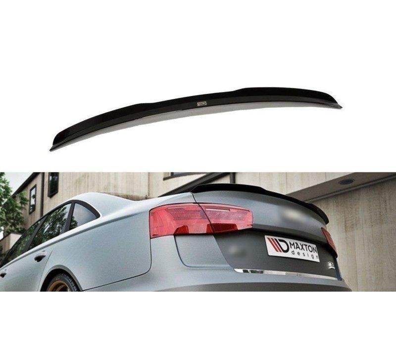 Achterklep spoiler lip voor Audi A6 C7 Sedan