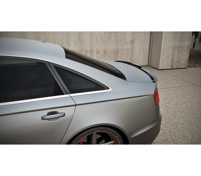 Heckspoiler lippe für Audi A6 C7 Limousine