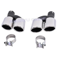R20 Look Exhaust Tail pipes set for Volkswagen Golf 7