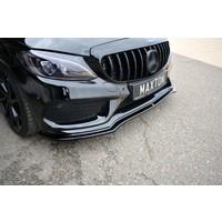 Front Splitter V. for Mercedes Benz C-Klasse W205