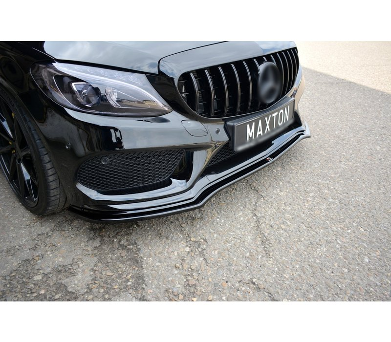 Front Splitter V.1 für Mercedes Benz C-Klasse W205
