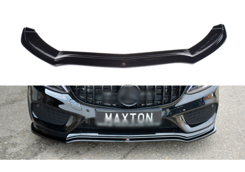 Maxton Design Front Splitter V. for Mercedes Benz C-Klasse W205 AMG Line / C43 AMG