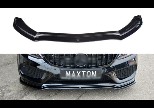 Maxton Design Front Splitter V.1 voor Mercedes Benz C-Klasse W205