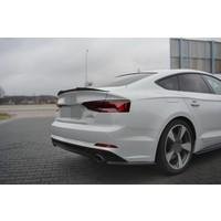 Tailgate spoiler lip for Audi A5 B9 F5 S line Sportback