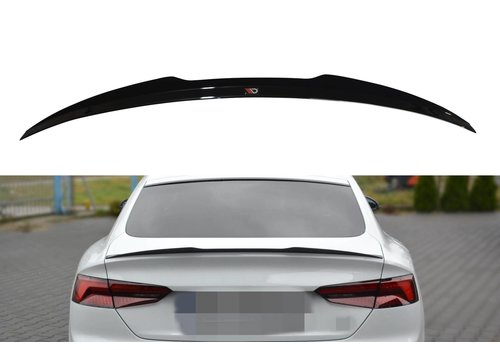 Maxton Design Achterklep spoiler lip voor Audi A5 B9 F5 S line Sportback