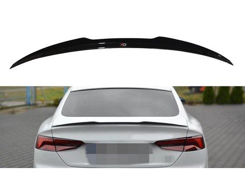 Maxton Design Tailgate spoiler lip for Audi A5 B9 F5 S line Sportback