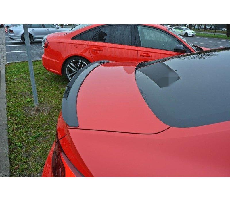 Heckspoiler lippe für Audi A5 B9 F5 S line Coupe