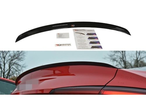 Maxton Design Tailgate spoiler lip for Audi A5 B9 F5 S line Coupe