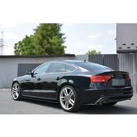 Tailgate spoiler lip for Audi A5 B8 8T / S5 / S line Sportback