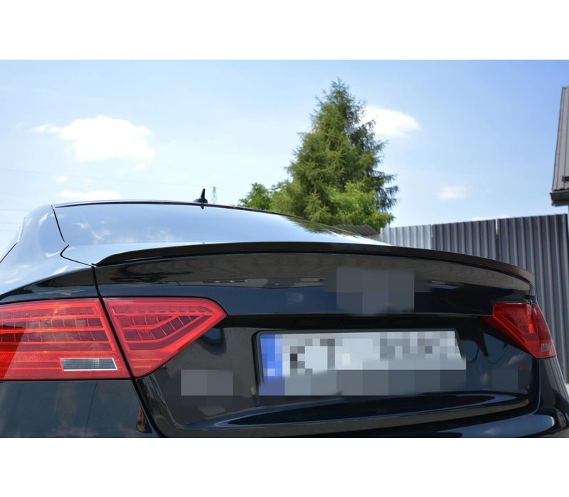 Achterklep spoiler lip voor Audi A5 B8 8T / S5 / S line Sportback