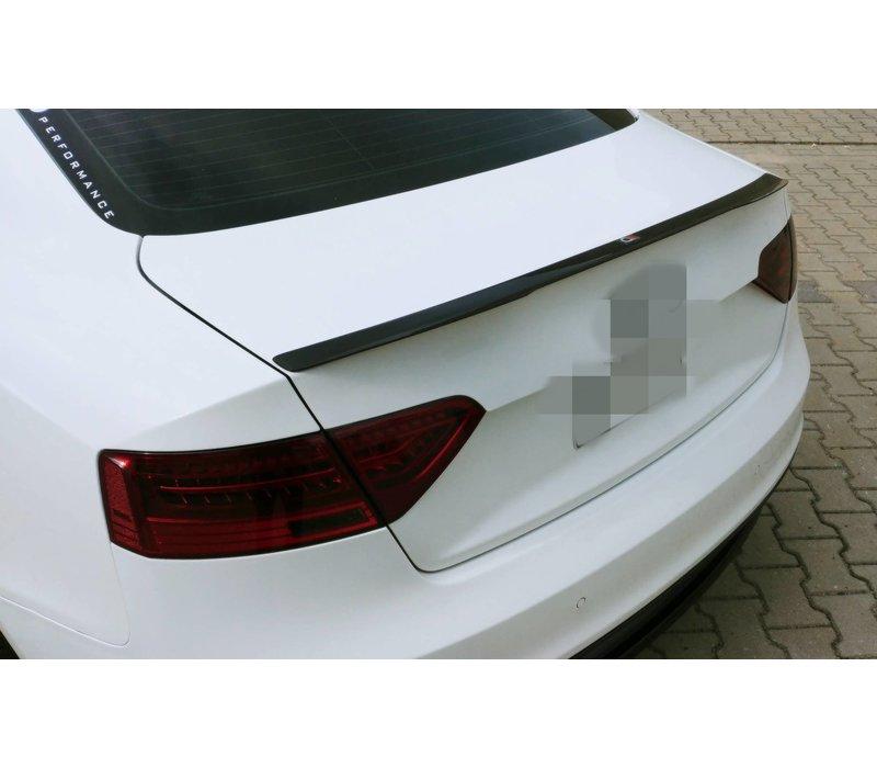 Achterklep spoiler lip voor Audi A5 B8 8T / S5 / S line Coupe