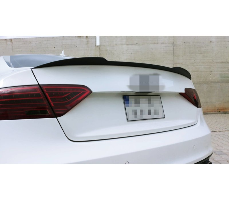 Tailgate spoiler lip for Audi A5 B8 8T / S5 / S line Coupe