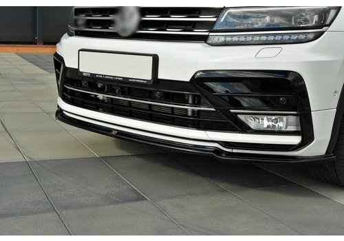 Maxton Design Front Splitter voor Volkswagen Tiguan R line