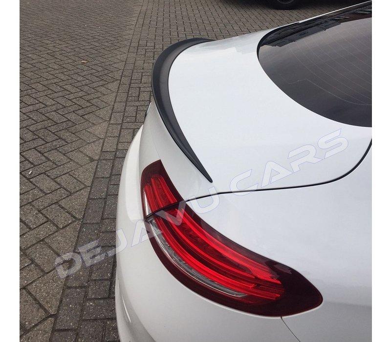 C63 AMG Look Heckspoiler lippe für Mercedes Benz C-Klasse W205 Coupe