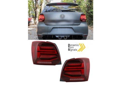 OEM LINE Dynamisch Voll LED Rückleuchten für Volkswagen Polo 6R / 6C