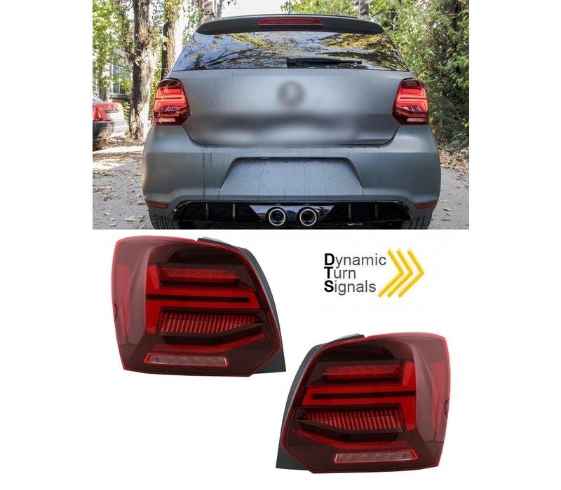 Dynamische Volledig LED Achterlichten voor Volkswagen Polo 6R / 6C