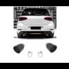 OEM LINE Carbon Auspuff Endrohr für Volkswagen Golf 6 GTI & Golf 7 GTI
