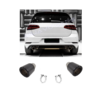 OEM LINE Carbon Exhaust tips for Volkswagen Golf 6 GTI & Golf 7 GTI