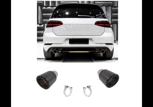 OEM LINE Carbon Uitlaat tips voor Volkswagen Golf 6 GTI & Golf 7 GTI
