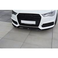 Front splitter V.1 voor Audi A6 C7.5 Facelift S line / S6