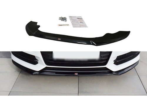 Maxton Design Front splitter V.1 for Audi A6 C7.5 Facelift S line / S6
