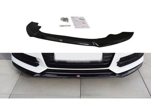 Maxton Design Front splitter V.1 voor Audi A6 C7.5 Facelift S line / S6