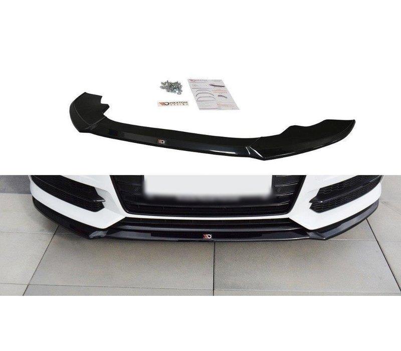 Front splitter V.1 für Audi A6 C7.5 Facelift S line / S6