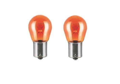 OEM LINE PY21W 12V 21W BAU15s Orange Indicators