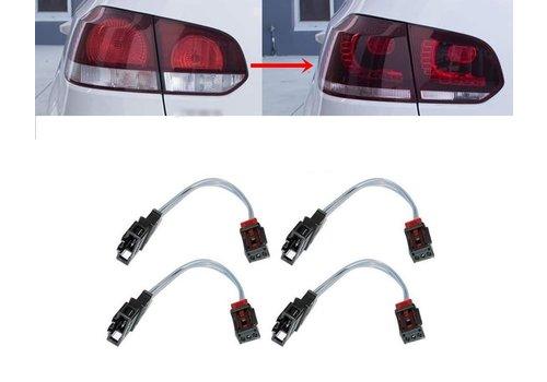 OEM LINE® Adapter kabel set voor Volkswagen Golf 6 LED Achterlichten