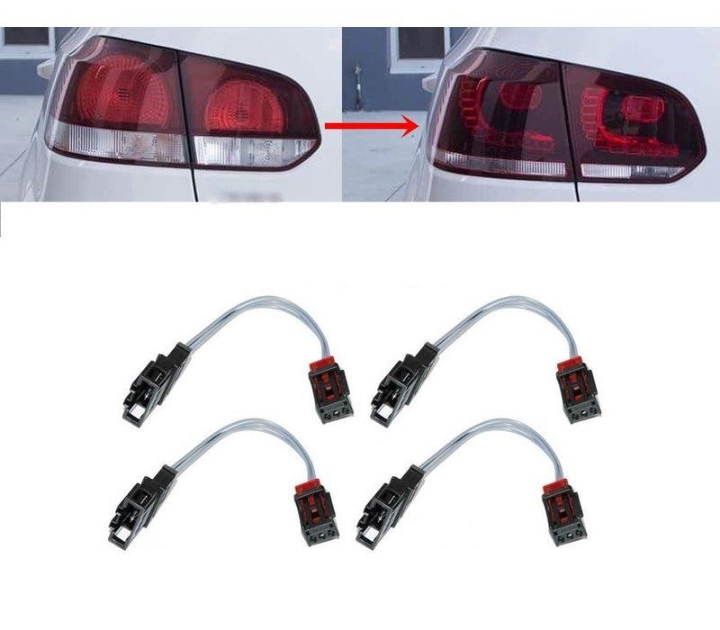 Adapter kabel set voor Volkswagen Golf 6 LED Achterlichten