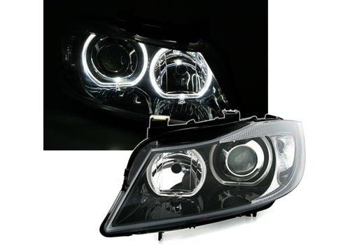 DEPO Xenon Look Koplampen met LED Angel Eyes voor BMW 3 Serie E90 / E91
