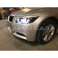Xenon Look Koplampen met 3D LED Angel Eyes voor BMW 3 Serie E90 / E91