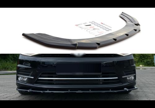 Maxton Design Front splitter voor Volkswagen Caddy 4