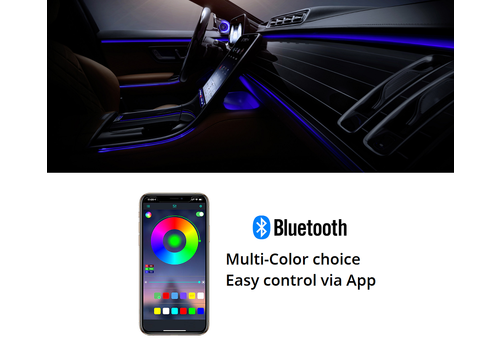 OEM LINE Ambient Lighting (sfeerverlichting) - Multi-Color + App Control