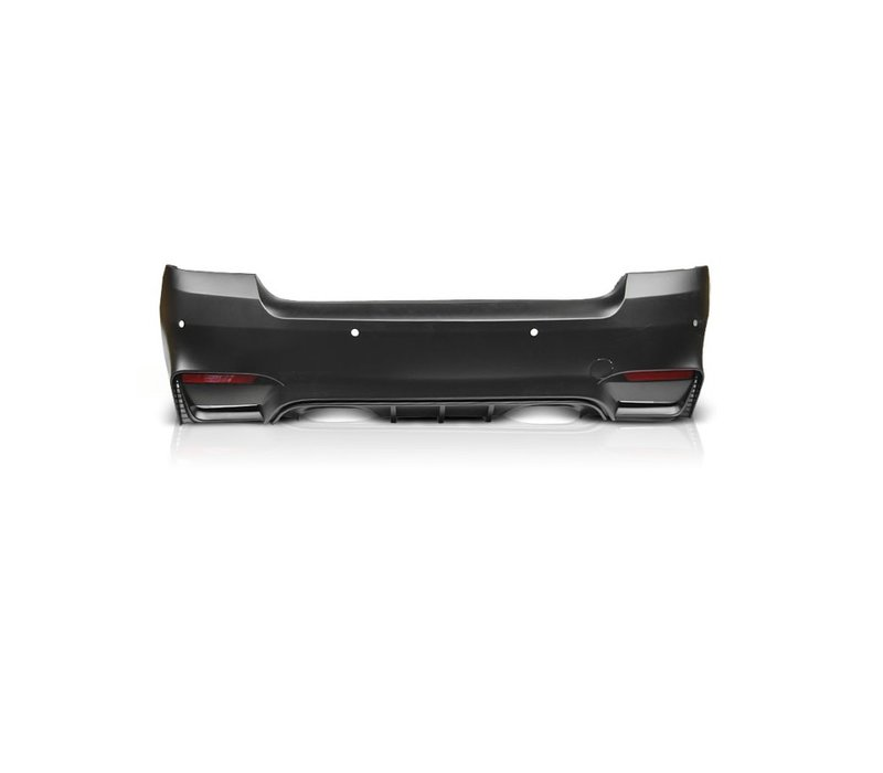 M4 Look Achterbumper voor BMW 3 Serie E92 / E93