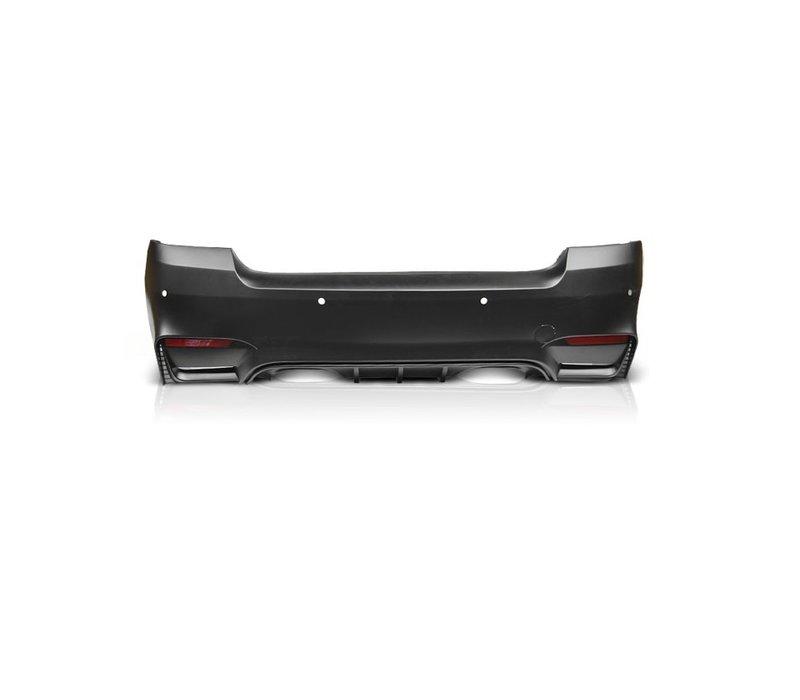M4 Look Rear bumper for BMW 3 Series E92 / E93