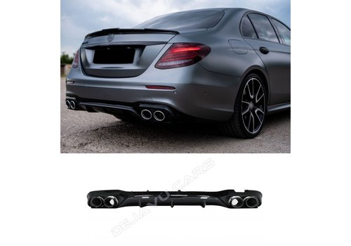 OEM LINE E53 AMG Look Diffuser Night Package for Mercedes Benz E-Class W213