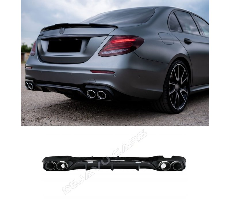 E53 AMG Look Diffusor Night Paket für Mercedes Benz E-Klasse W213