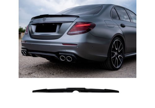 OEM LINE Aggressive AMG Look Tailgate spoiler lip for Mercedes Benz E-Class W213