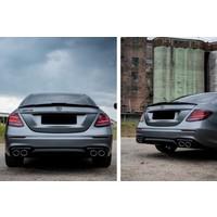 Aggressive Achterklep spoiler lip voor Mercedes Benz E-Klasse W213