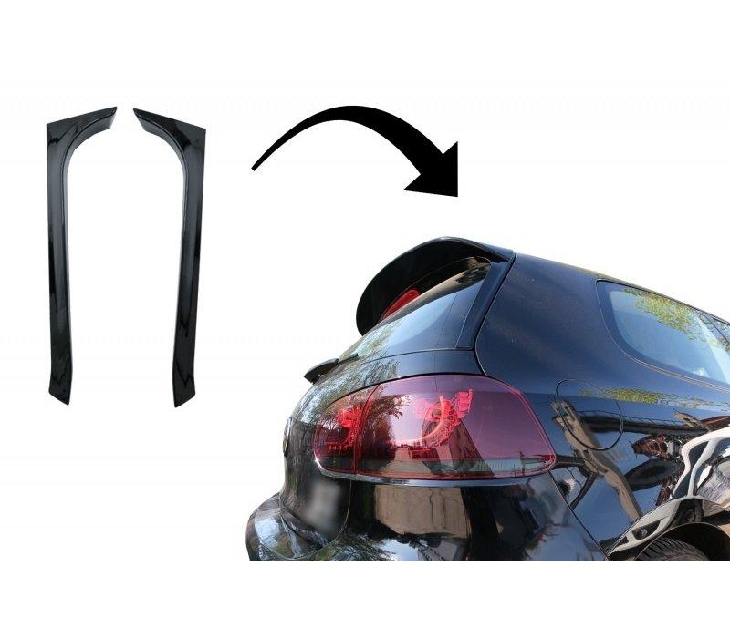 Achterklep Vertical Spoiler voor Volkswagen Golf 6