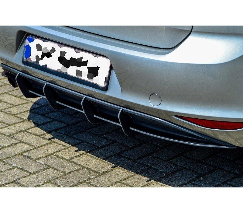 Aggressive Diffuser for Volkswagen Golf 7