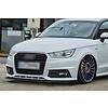 OEM LINE Front Splitter voor Audi A1 8X Facelift S-line