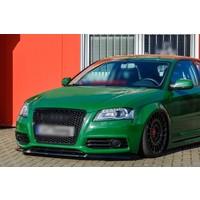Front Splitter voor Audi A3 8P S-line Facelift