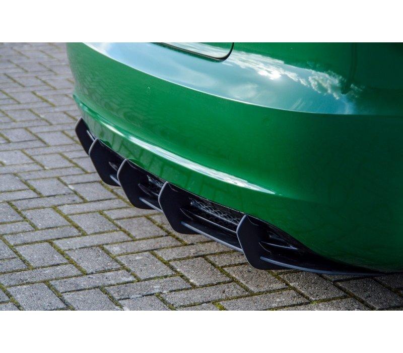 Aggressive Diffusor für Audi A3 8P S-line Facelift