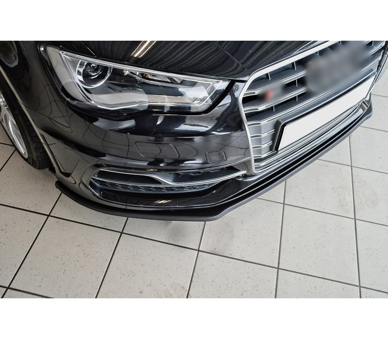 Front Splitter voor Audi A3 8V S-line / S3