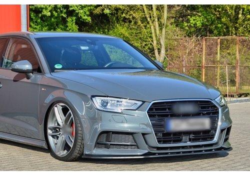OEM LINE Front Splitter voor Audi A3 8V Facelift S-line / S3
