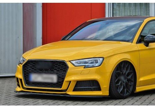OEM LINE Front Splitter for Audi A3 8V Facelift S-line / S3