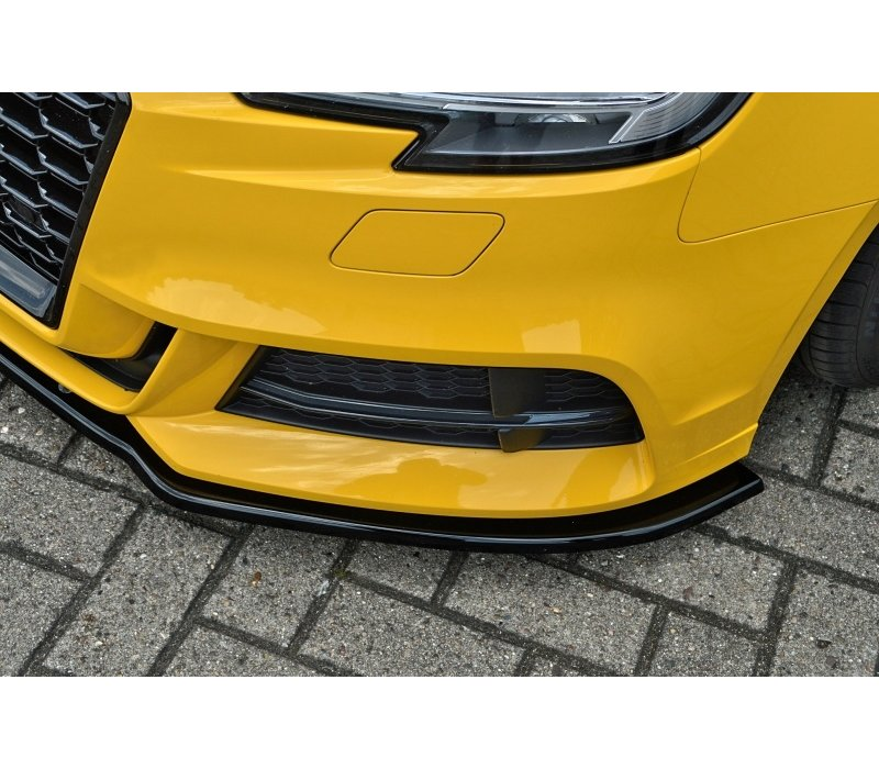 Front Splitter für Audi A3 8V Facelift S-line / S3